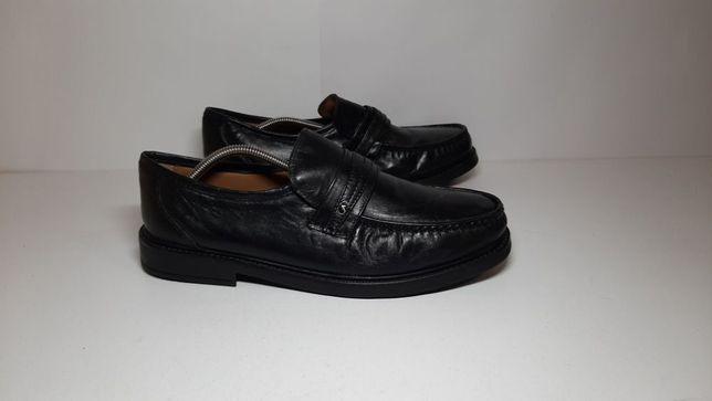 45-46р,стелька29,5см,Кожаные туфли,мокасины ботинки Henry Gondorff