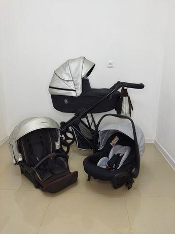 Wysyłka/odbiór wózek wielofunkcyjny 3w1 Bebetto Nitello Shine