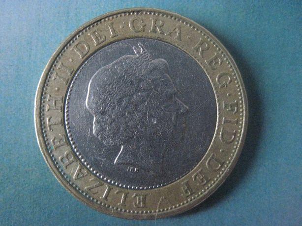 Продам монету Английская 1998 г
