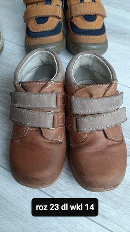 Buty jesienne 23 dł wkładki 14cm
