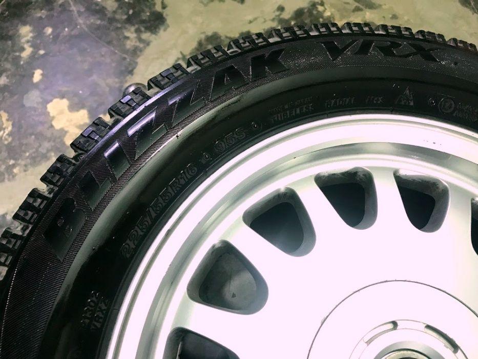 Диски, литье колеса титаны с зимней резиной R16 БМВ Е39 Е38 Е34 Е32