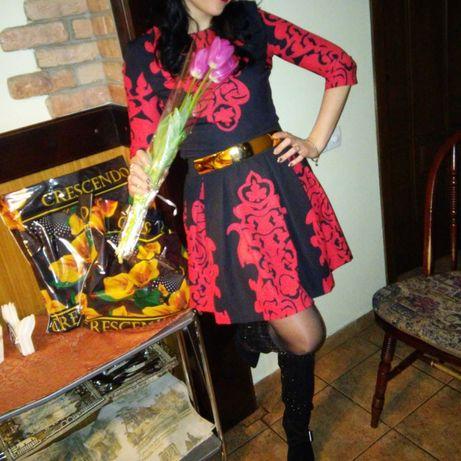 Платье нарядное с поясом