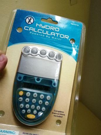 calculadora que funciona a Agua!