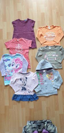 Bluzy dziecięce i tuniki rozmiar 98