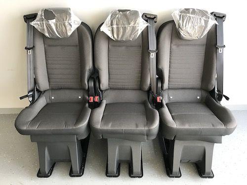 Fotel fotele do busa busów Ford Custom zabudowy brygadowe osobowe