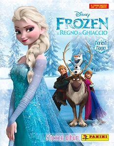 NAKLEJKI Frozen Magiczne Chwile PANINI