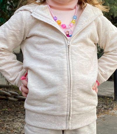 Спортивный 104 H&M идеал костюм   98 /110 с начёсом тёплый кофта штаны