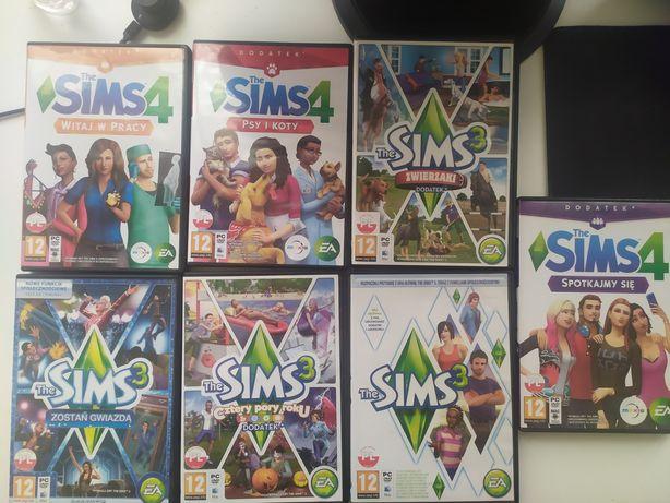 The Sims dodatki