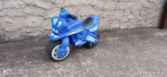 Motor zabawka odpychany