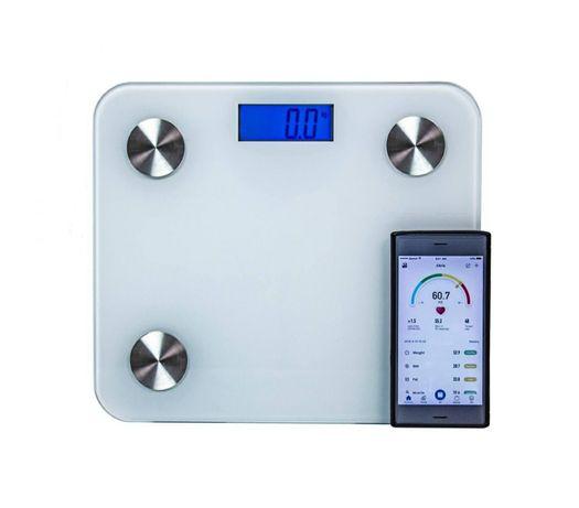 Смарт весы напольные цифровые