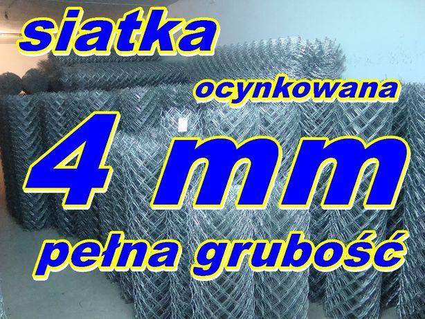 siatka ogrodzeniowa Ocynkowana PEŁNA fi 4 mm+oc./151wys. PRODUCENT