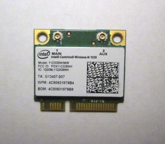 Wi-Fi модуль Half mini PCI-E Intel 11230BNHMW быстрый 300 Мбит/с +BT