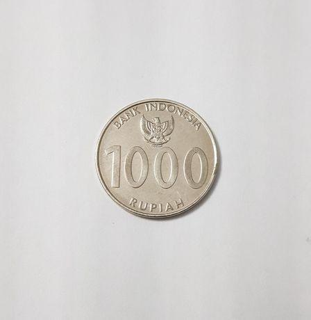 Moeda 1000 rupias Indonésia