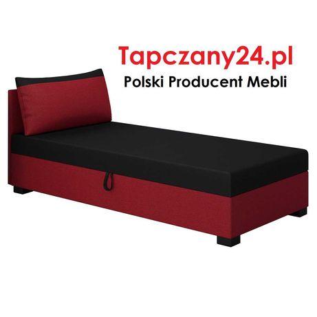 Tapczan 80/90/100 Łóżko jednoosobowe młodzieżowe Sofa z pojemnik