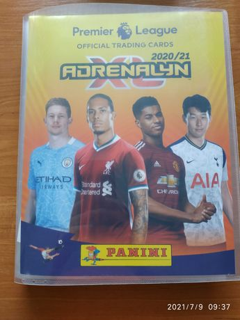 Zamienię karty z Panini Premier League 2020/2021