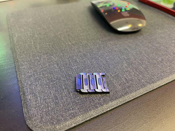 Dodatkowe ogniwa do bransolety panelowej Apple Watch 4 sztuki