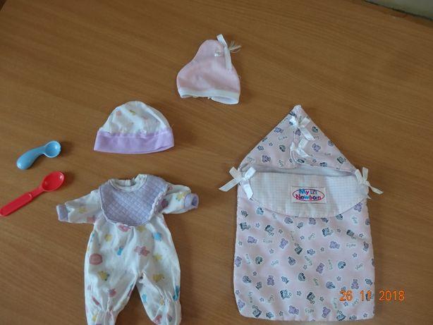 spiworek + ubranie dla lalki
