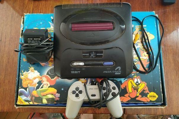 Продам поставку Sega mega drive 2