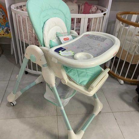 Качественный надежный стульчик для кормления ребенка Carrello Toffee