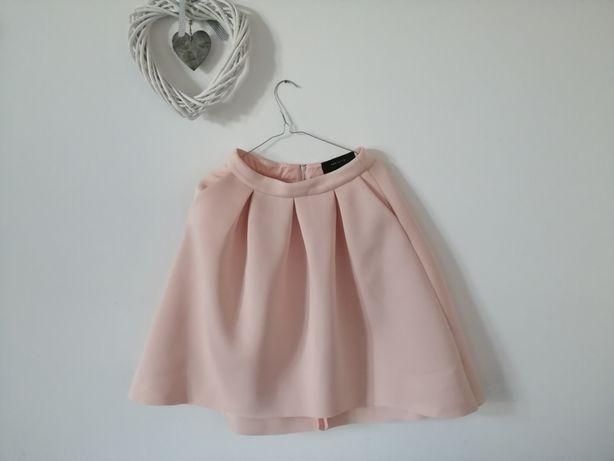 Spódnica w kolorze pudrowy roz