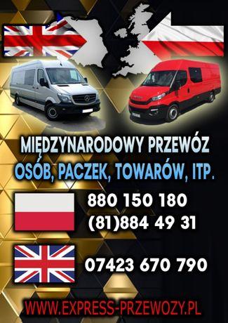 BUSY do Anglii, Busy Anglia, Busy Polska ANGLIA, PACZKI do anglii