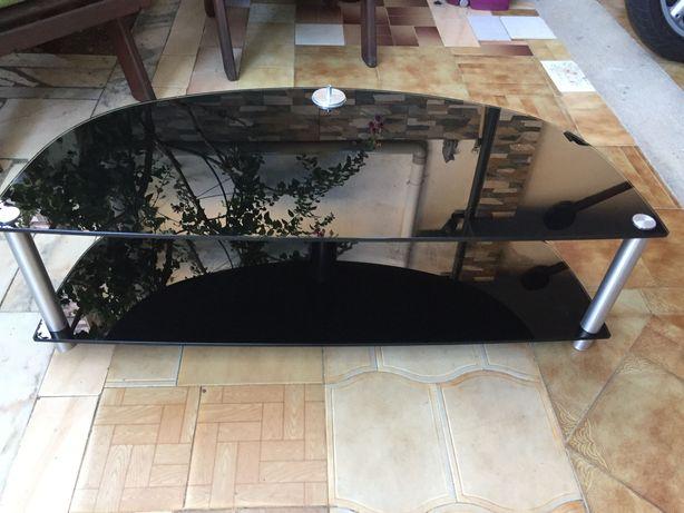Mesa em vidro para TV televisão
