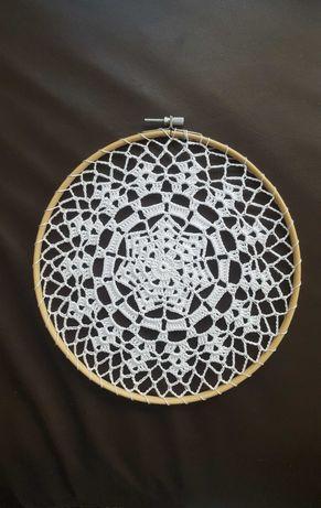 Decoração em crochet