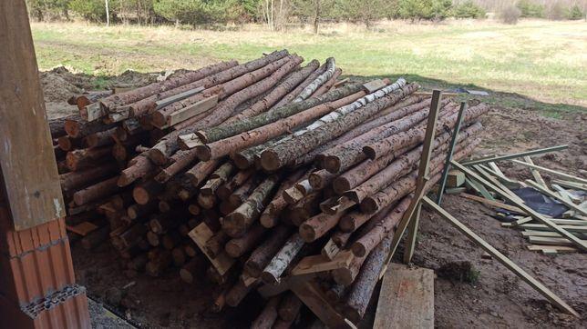 Stemple budowlane około 100sztuk