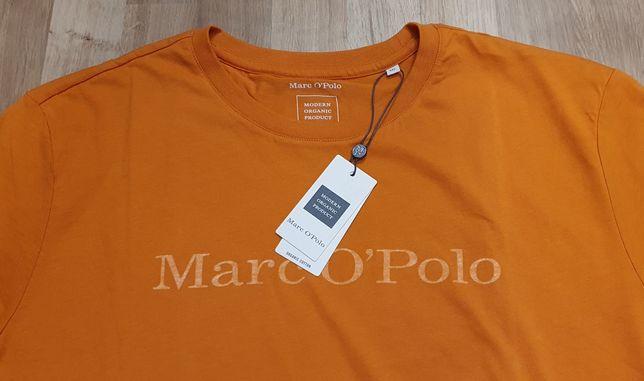 Nowa koszulka t-shirt Marc O'Polo rozmiary L oraz XXL pomarańczowa