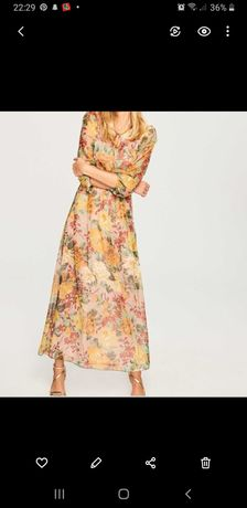 Sukienka długa Reserved