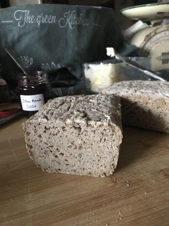 Chleb gryczany bezglutenowy na zakwasie gryczanym od rolnika