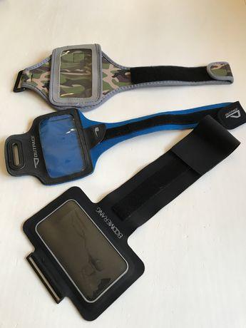 Capas telemóvel c/braçadeira para desporto