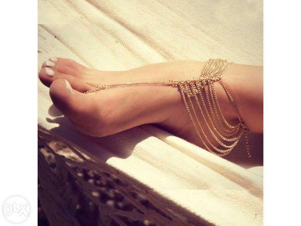 Pulseiras para tornozelo várias (Novas) Agualva-Cacem