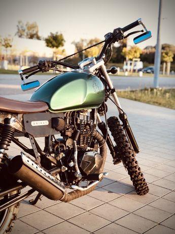 Romet Ogar Caffe 125cc - UNIKAT - Scrambler Cafe racer