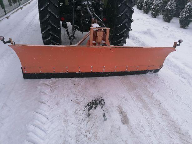 Pług do śniegu na przedni TUZ , pług z mocowaniem Zetor 7211 , 5211