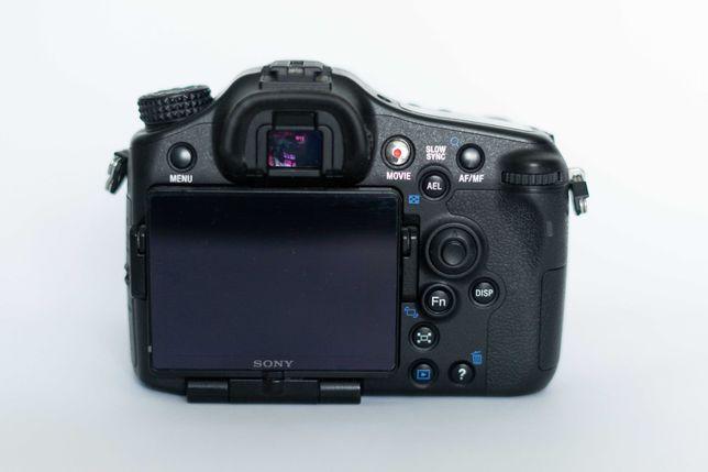 Aparat Sony SLT-A77VQ + 16-50mm minimalny przebieg ( opis )!