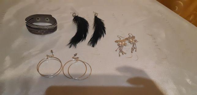 Zestaw biżuterii używanych - cena za całość