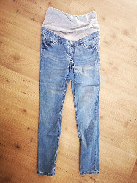 Spodnie ciążowe jasny jeans esmara