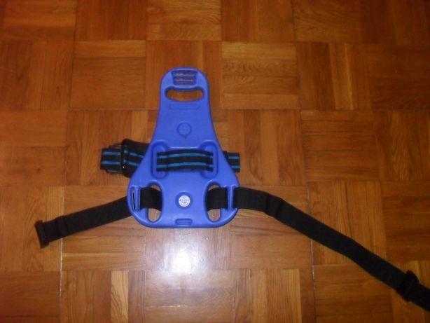 Спинка для баллона с ремнями-крепежами ( для дайвинга )