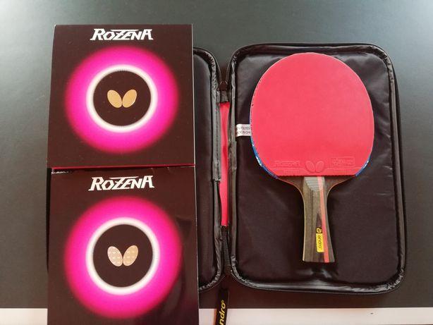 Rakietka Butterfly do tenisa stołowego (tenergy rozena donic tibhar)