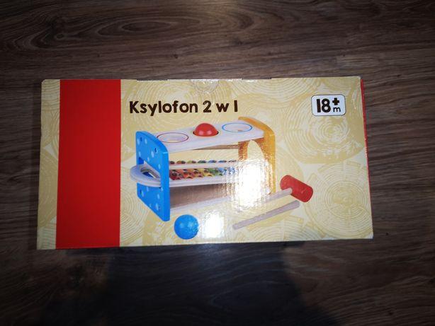 Ksylofon 2w1 cymbałki