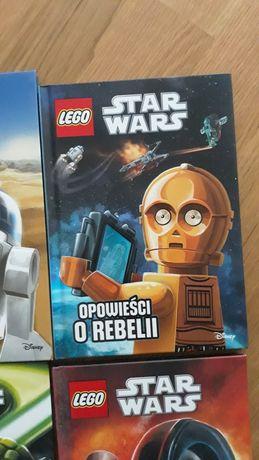 Lego Star Wars książka Opowieści o rebelii