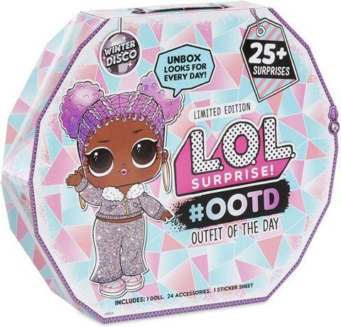 L.O.L. Surprise! #OOTD Winter Disco ЛОЛ адвент-календарь диско кристал