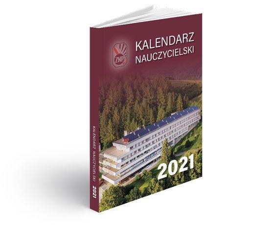 Kalendarz Nauczycielski 2021 Kalendarz książkowy dla nauczyciela - ZNP