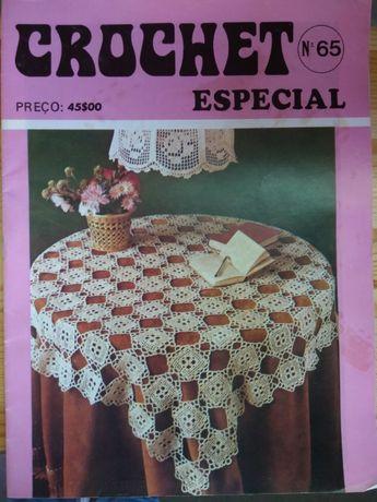 Diversas Revistas de Crochê