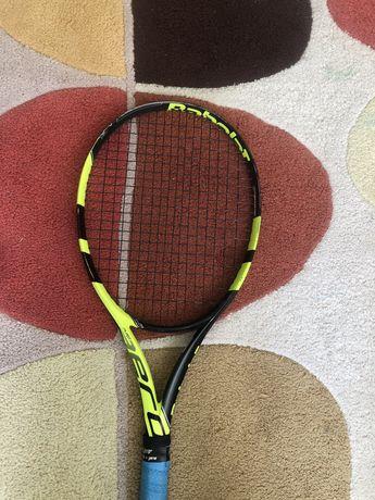 Продам ракетку для великого тенісу babolat pure aero s-lite 260г