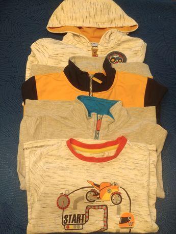 Bluzy 5-10-15 r.110 szt.3 koszulka