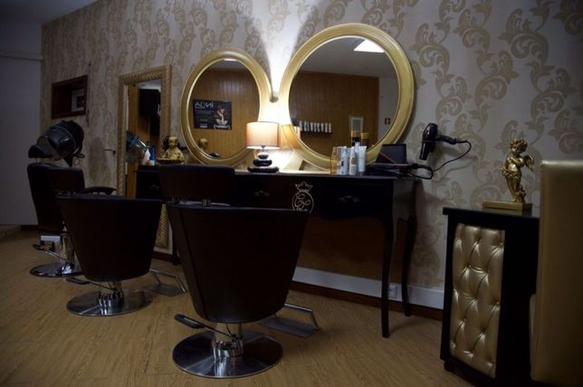 mobiliario cabeleireiro clássico fábrica