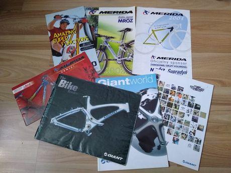 Prospekty rowerowe ulotki katalogi zabytkowe