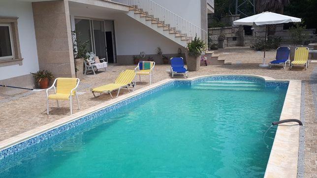 Casa de férias t4 com piscina (Vale de Cambra)